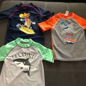 fb29bc89e2 Carter's Swim | Toddler Boys 5 Shirts Rashguard Lot Carters | Poshmark